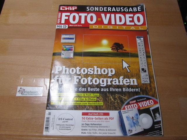 CHIP Sonderausgabe Foto-Video Digital Mit CD