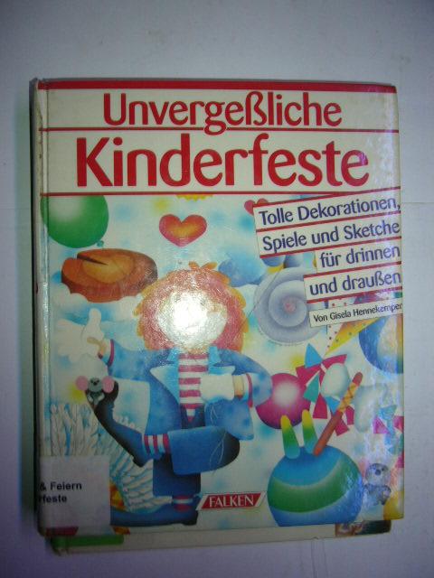 Unvergeßliche Kinderfeste