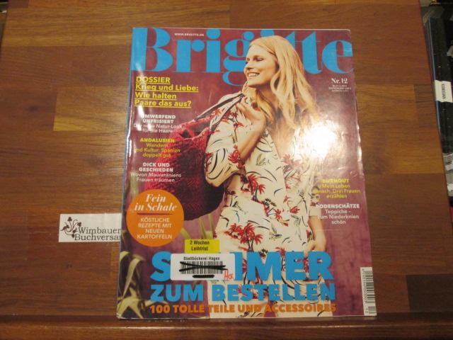 Brigitte, Heft 12, 27.05.2015 Sommer zum Bestellen