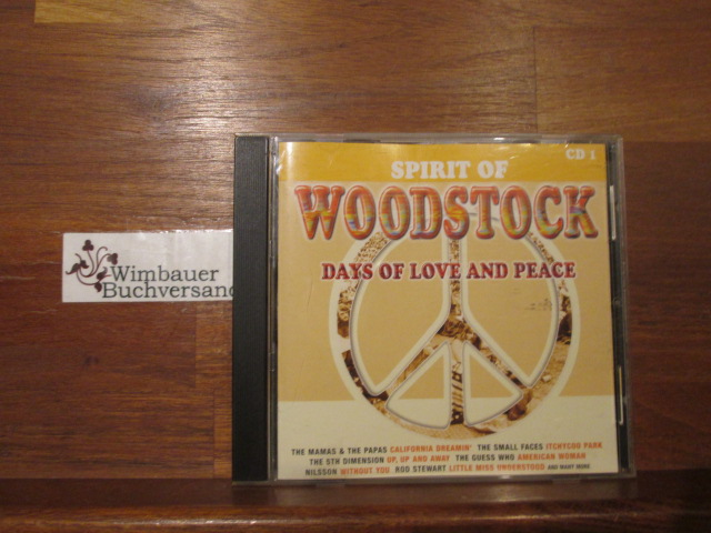 Spirit of Woodstock: days of Love and Peace 3 CDs