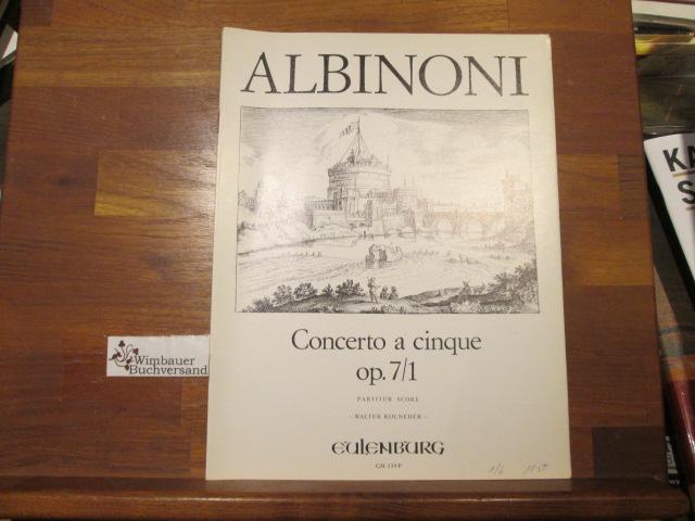 Concerto a cinque op. 7/1