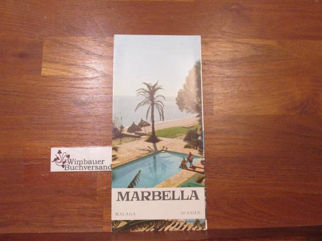 Faltblatt: Marbella Malaga Spanien