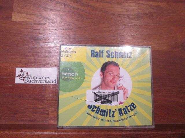 Ralf Schmitz liest Ralf Schmitz, Schmitz
