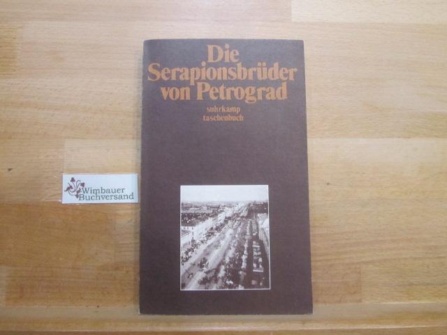 Drohla, Gisela (Übersetzer) : Die Serapionsbrüder von Petrograd. aus d. Russ. übers. u. hrsg. von Gisela Drohla / Suhrkamp-Taschenbuch ; 844 1. Aufl.