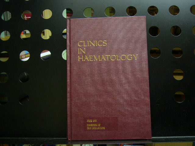 Clinics in Haematology June 1982 Disorders of Iron Metabolism