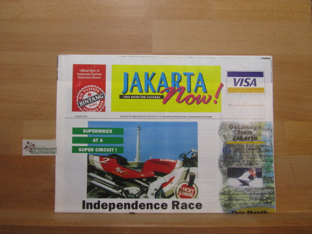 Jakarta Now Free Guide for Visitors August 1996