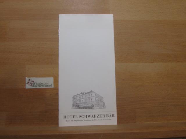 Hotel Schwarzer Bär Haus mit 500jähriger Tradition als Hotel und Restaurant