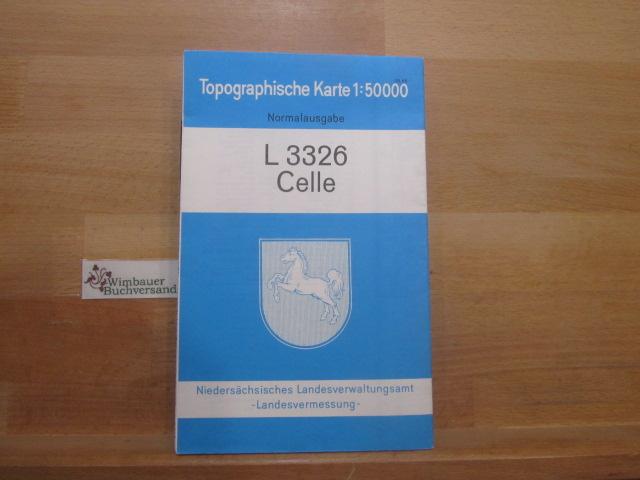 L3326 Celle Topographische Karte 1:50.000