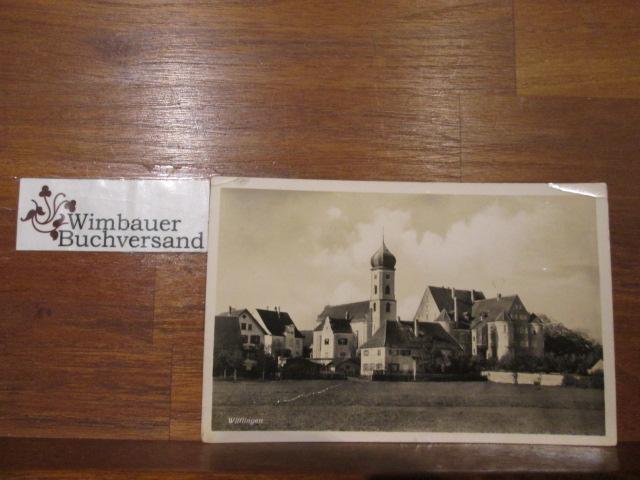 Postkarte Wilflingen [Schloss Stauffenberg, Kirche und Wohnhaus Ernst Jünger Oberförsterei]