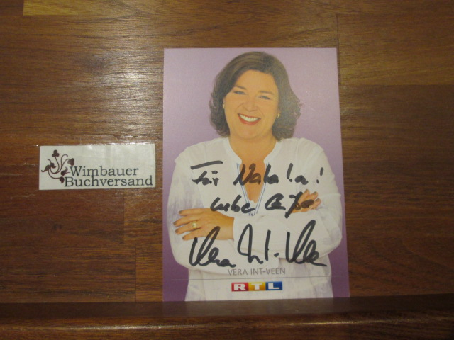Original Autogramm Vera Int-Veen /// Autogramm Autograph signiert signed signee