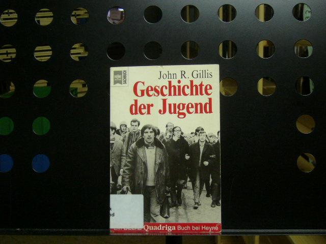 Gillis, John R. : Geschichte der Jugend