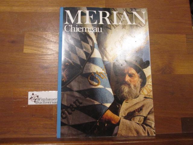 Chiemgau. Merian ; 37,7