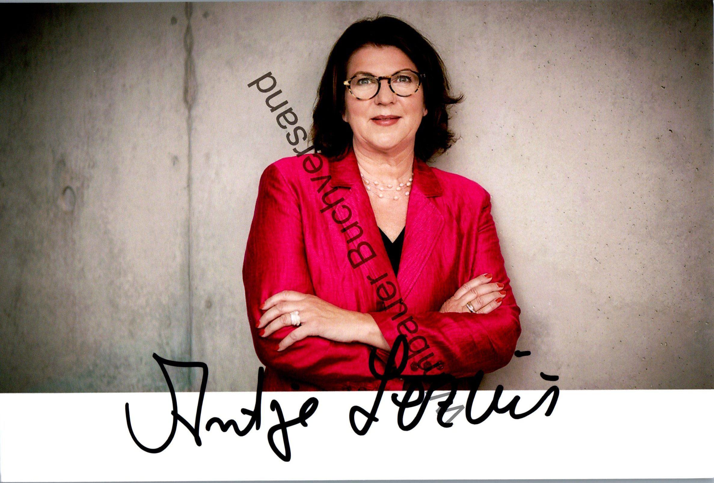 Original Autogramm Antje Lezius MdB CDU /// Autogramm Autograph signiert signed signee