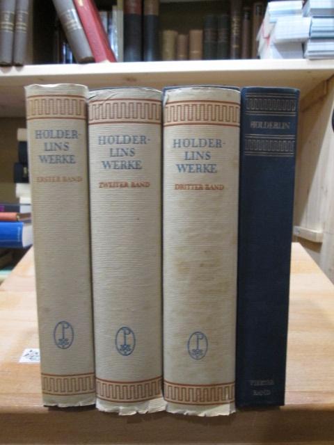 Sämtliche Werke; Vier Bände Besorgt durch Friedrich Seebass 3. Aufl.