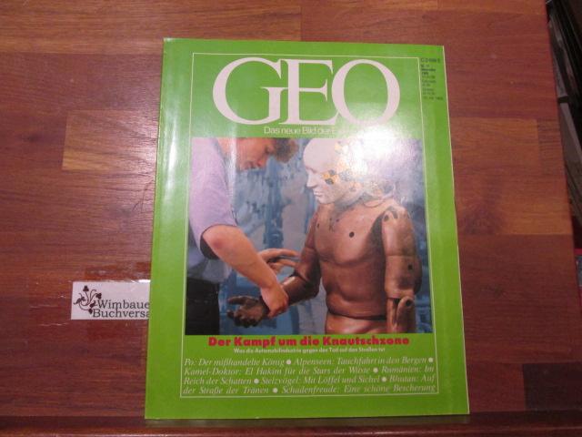 GEO Das neue Bild der Erde : 11, November 1989 Der Kampf um die Knautschzone