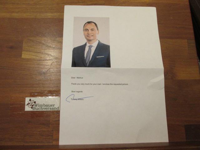 Original Autogramm Tommy Ahlers Dänischer Minister und Unternehmer