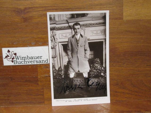 Original Autograph Joseph Coyne (1867-1941) /// Autogramm Autograph signiert signed signee