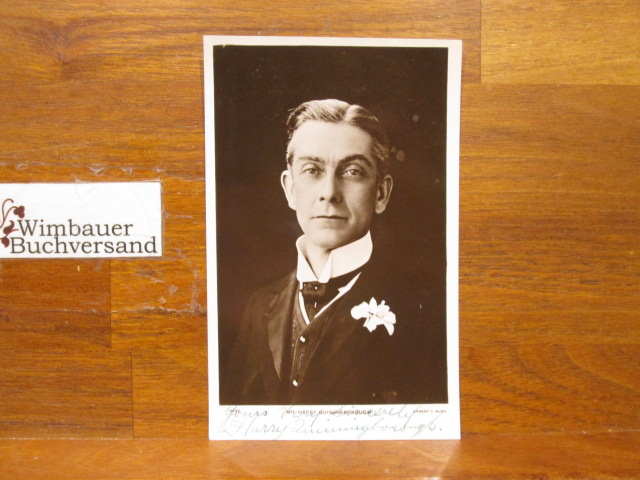 Original Autograph Harry Quiningborough (died 1915) british actor, singer and comedian /// Autogramm Autograph signiert signed signee
