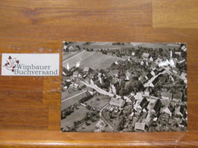 Postkarte Luftbild Wilflingen [Schloss Stauffenberg, Kirche und Wohnhaus Ernst Jünger Oberförsterei]