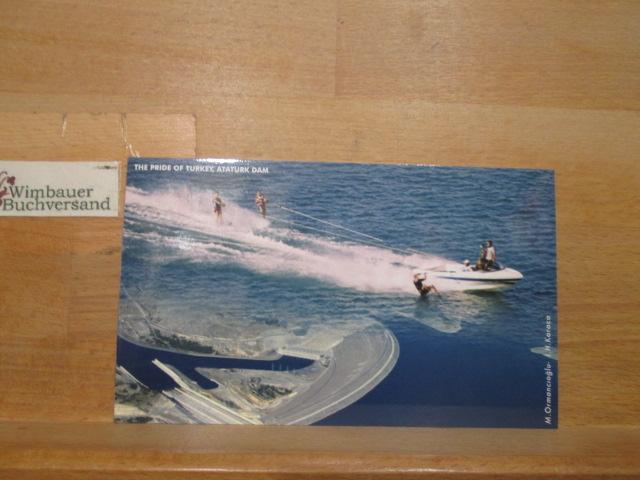 Postkarte: The Pride of Turkey, Atatürk Dam