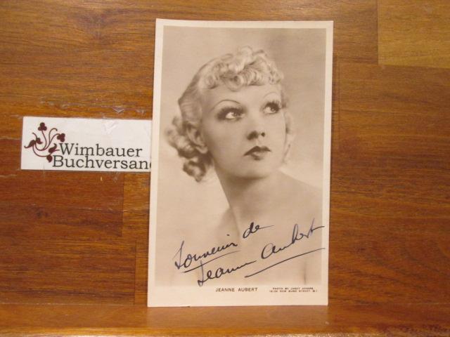Original Autograph Jeanne Aubert /// Autogramm Autograph signiert signed signee