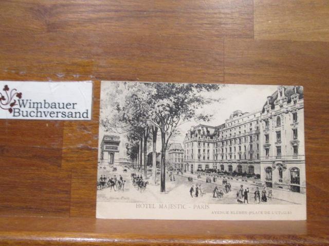 Alte Postkarte Hotel Majestic Avenue Kléber Place de l