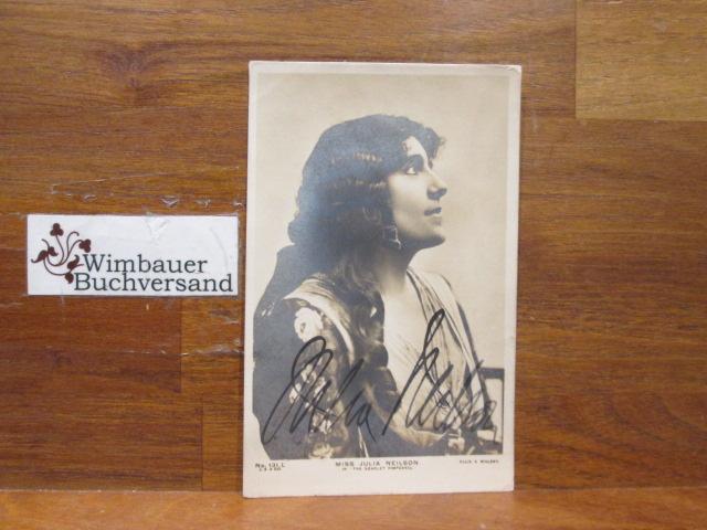 Original Autograph Julia Neilson (1868-1957) English Actress /// Autogramm Autograph signiert signed signee