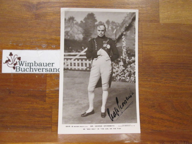 Original Autograph George Grossmith jr (1874-1935) British actor /// Autogramm Autograph signiert signed signee