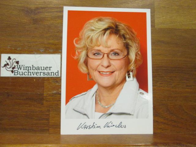 Original Autogramm Kerstin Kircheis MdL Brandenburg /// Autogramm Autograph signiert signed signee