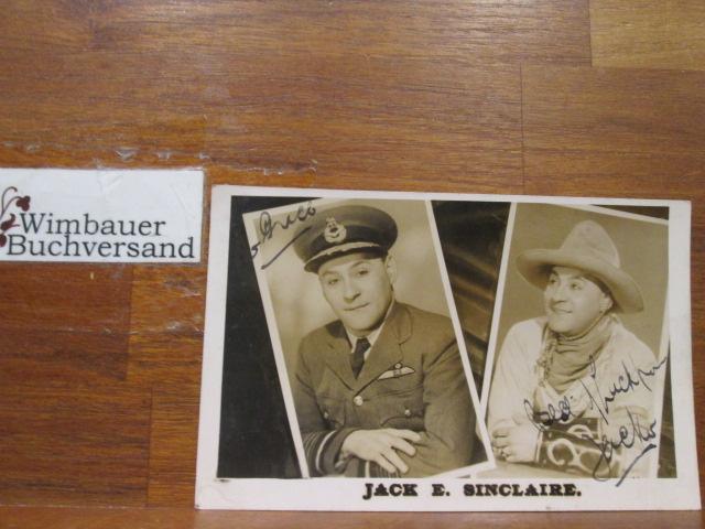 Original Autograph Jack E. Sinclaire actor /// Autogramm Autograph signiert signed signee