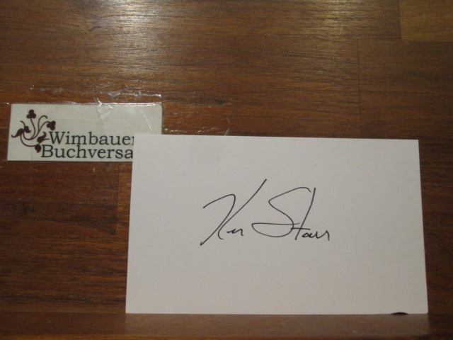 Autograph Ken Starr american Lawyer /// Autogramm Autograph signiert signed signee