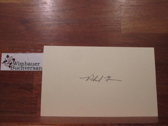 Autograph Phil Gramm US Senator Texas /// Autogramm Autograph signiert signed signee