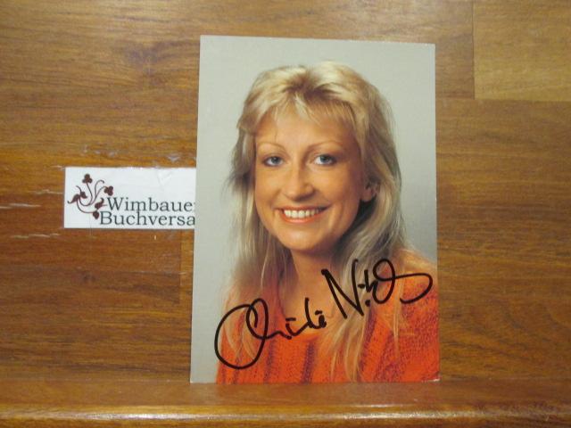 Original Autogramm Christine Niklas Hobbythek WDR /// Autogramm Autograph signiert signed signee