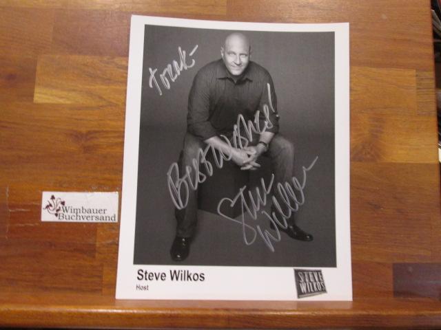 Original Autograph Steve Wilkos (*1964 US Host) /// Autogramm Autograph signiert signed signee