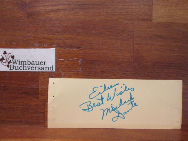Original Autograph Michael Dante (*1931, american actor) Star Trek /// Autogramm Autograph signiert signed signee