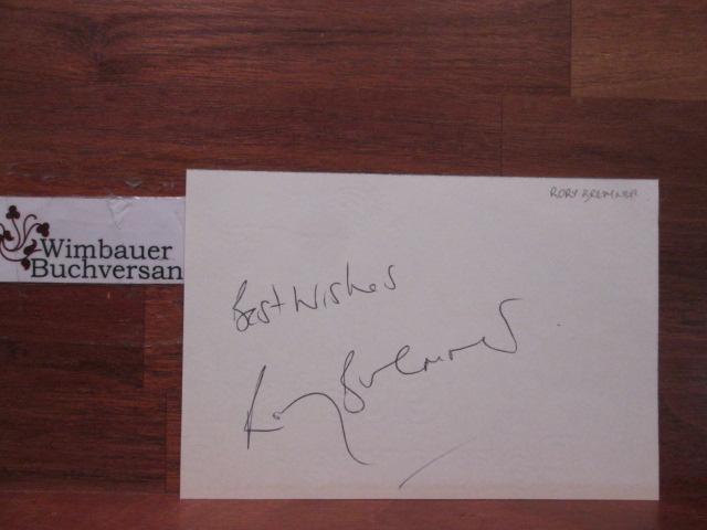 Original Autograph Rory Bremner (*1961 Scottish impressionist and comedian) /// Autogramm Autograph signiert signed signee