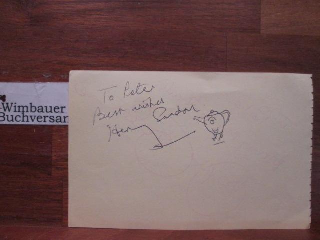 Original Autograph Henry Sandon und Jasper Carrott /// Autogramm Autograph signiert signed signee