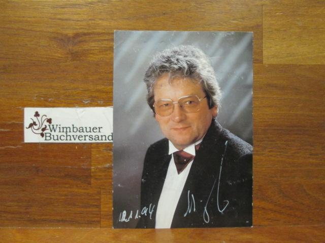 Original Autogramm Willi Hack Schlager von gestern /// Autogramm Autograph signiert signed signee
