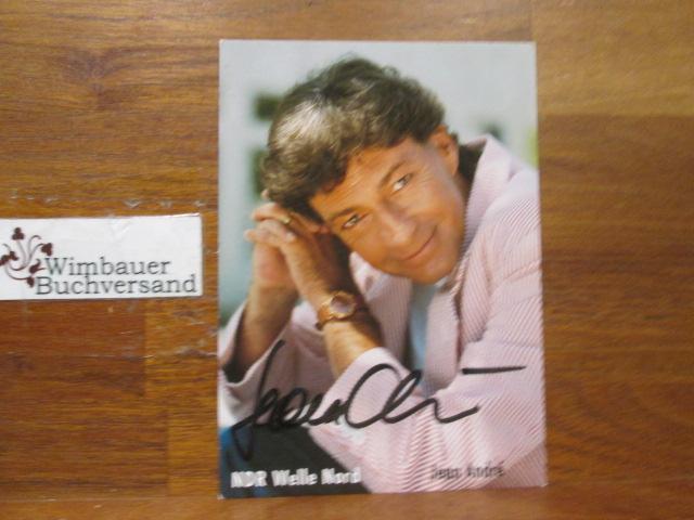 Original Autogramm Jean Andre NDR /// Autogramm Autograph signiert signed signee