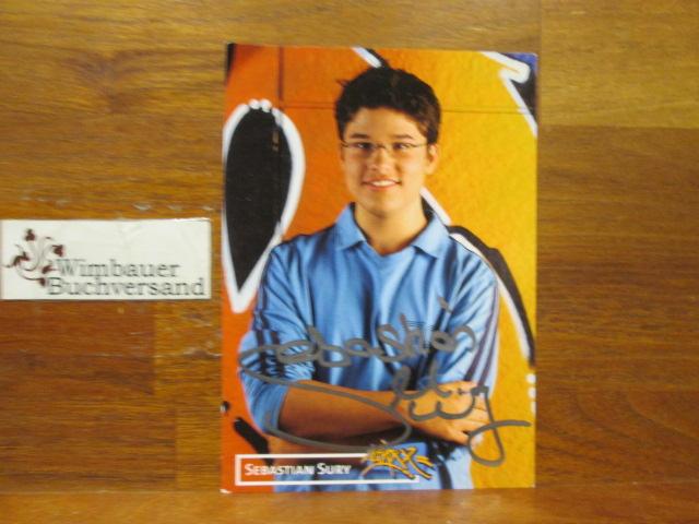 Original Autogramm Sebastian Sury Schauspieler /// Autogramm Autograph signiert signed signee