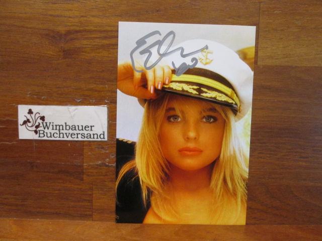Autograph Erika Eleniak Baywatch Playmate Actress /// Autogramm Autograph signiert signed signee