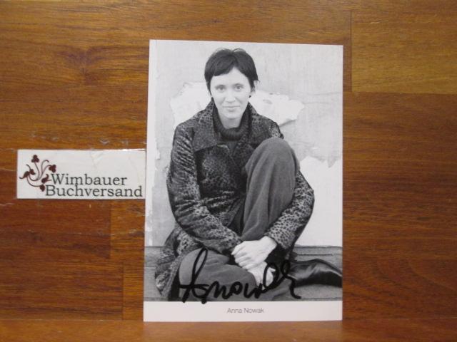 Original Autogramm Anna Nowak Lindenstrasse /// Autogramm Autograph signiert signed signee