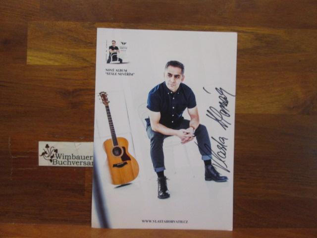 Original Autogramm Vlasta Horvath Czech Superstar /// Autogramm Autograph signiert signed signee