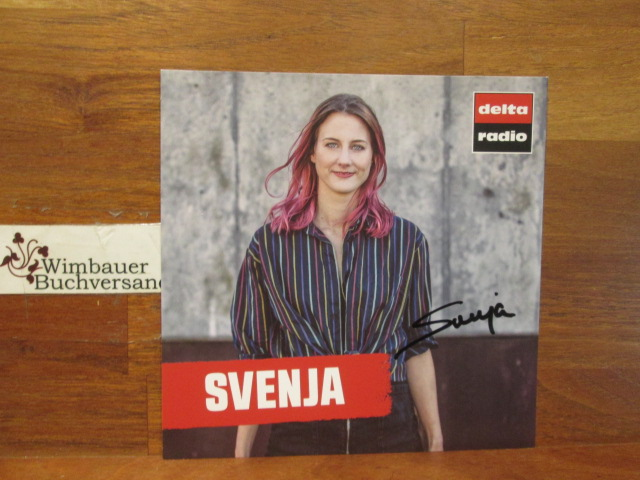 Svenja : Original Autogramm Svenja Delta Radio  /// Autogramm Autograph signiert signed signee