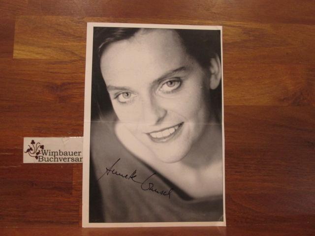 2 Original Autogramme Annette Wunsch, Schauspielerin Soko München Bulle von Tölz Tatort /// Autogramm Autograph signiert signed signee