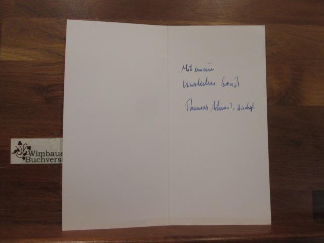 Adomeit, Thomas : Original Autogramm Thomas Adomeit Bischof Oldenburg /// Autogramm Autograph signiert signed signee