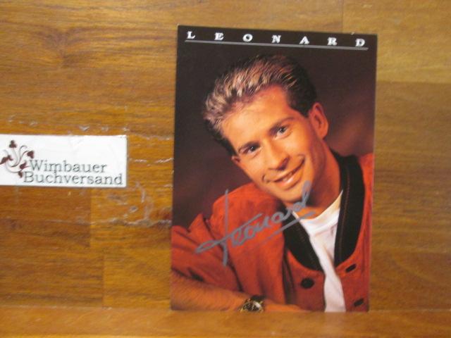 Original Autogramm Leonard /// Autogramm Autograph signiert signed signee