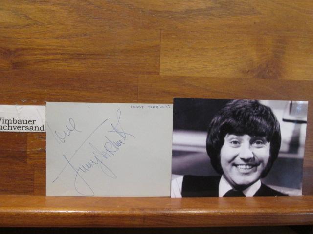 Original Autograph Jimmy Tarbuck british comedian (*1940) // Autogramm Autograph signiert signed signee