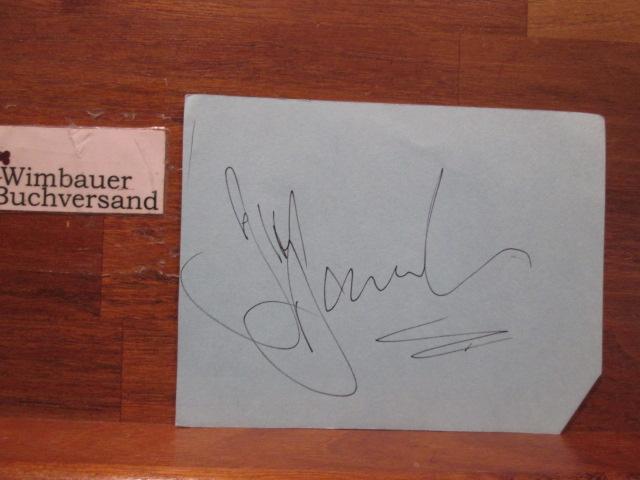 Unidentified Autograph  /// Autogramm Autograph signiert signed signee
