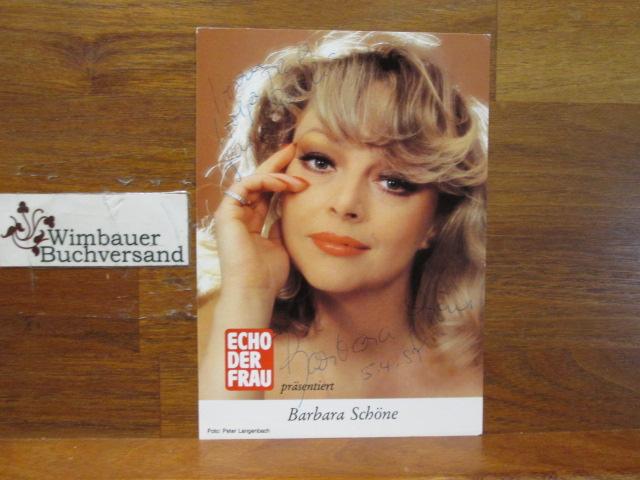 Original Autogramm Barbara Schöne (*1947) Schauspielerin /// Autogramm Autograph signiert signed signee